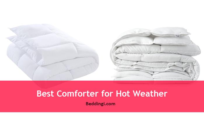 Best Lightweight Down Comforter For Summer Hot Weather   Top Brands Review